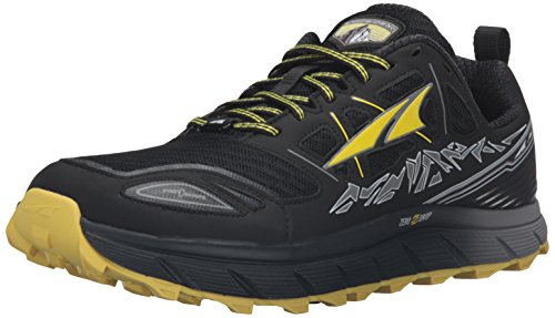 Altra Men's Lone Peak 3 Running Shoe, Black/Yellow, 11 M US