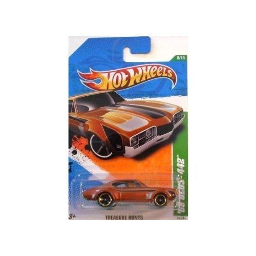 Hot Wheels Treasure Hunts 2011 '68 Olds 442 Brown Car 8/15 ()