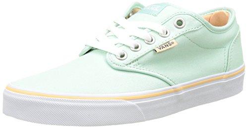 Canvas Atwood Vans Grün Wm Damen Sneakers wxW7P6v