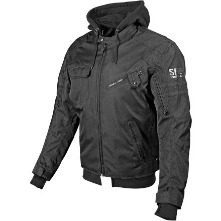 Speed and Strength Off the Chain 2.0 Men's Textile Jacket (Stealth, Medium)