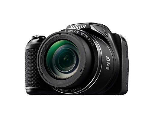 41BuSNjkxQL - Nikon Coolpix L340 20.2 MP Digital Camera with 8GB memory card bundle (28x Optical Zoom, 3.0-Inch LCD, 720P Video, Black, US model)