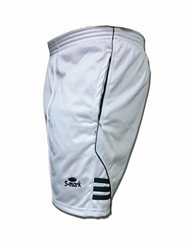 S Mark  Sports Shorts  White