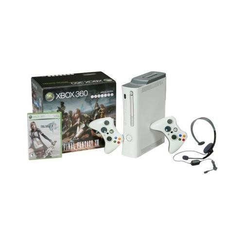 Microsoft Xbox 360 Elite Gaming Console, BM PowerPC 3.20 GHz, 512 MB DDR3 SDRAM, 50 GB Hard Drive – Ceramic White