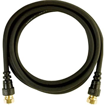 Audiovox VH606 - Cable coaxial (Negro, Oro, RCA, RCA): Amazon.es ...