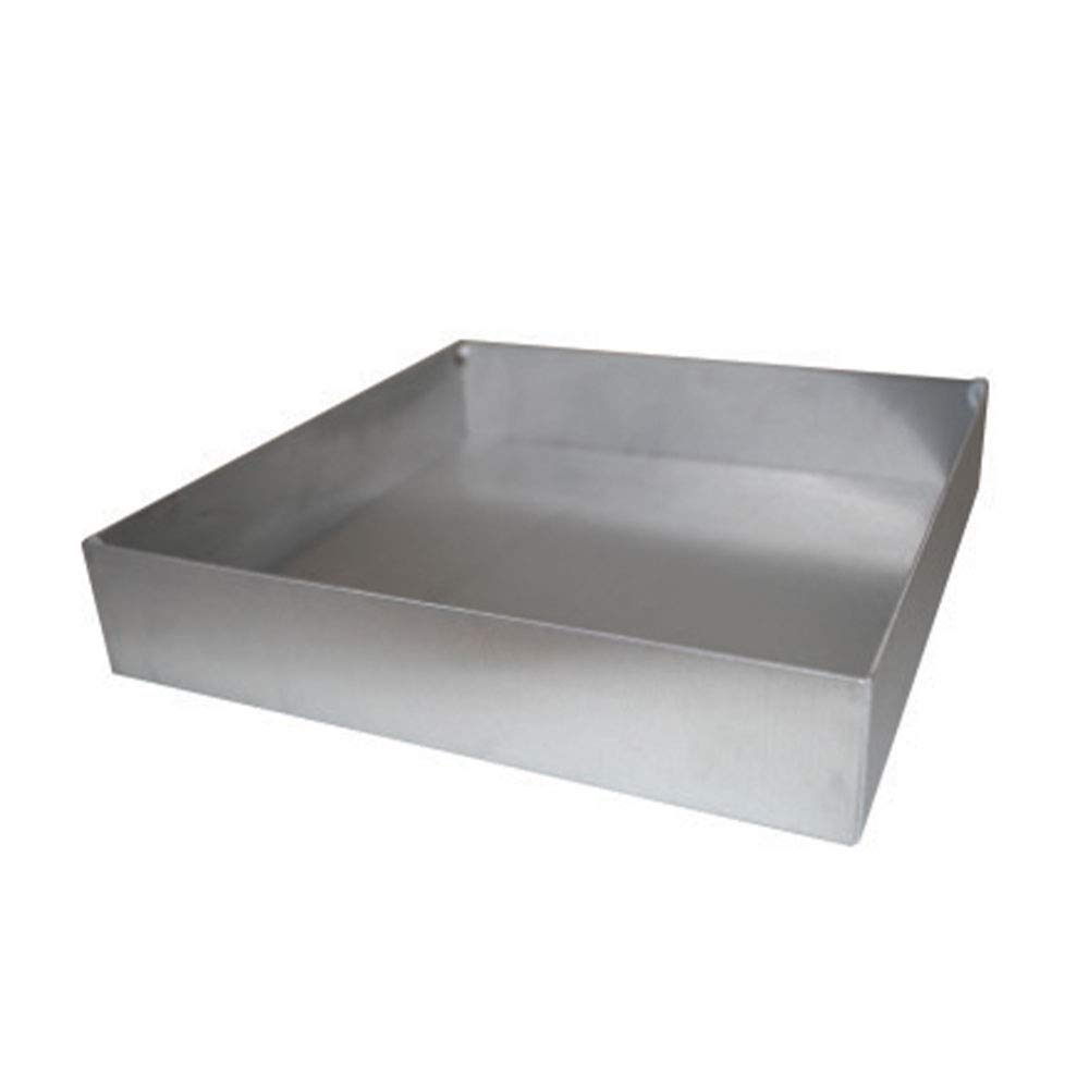 Autoclavable Tray, Stainless Steel, for Narrow Drosophila Vials, 1 Tray/Unit by Flystuff