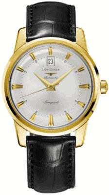 New Longines Heritage Collection Conquest Mens Watch L1.645.6.75.4