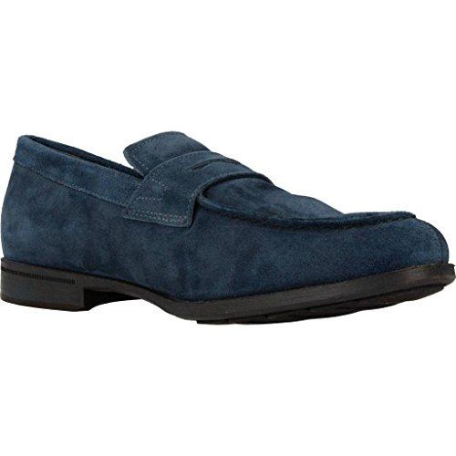 Mocasines para mujer, color Azul , marca GEOX, modelo Mocasines Para Mujer GEOX U BESMINGTON Azul Azul