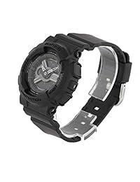 G-Shock Womens BA-110BC-1A G-Shock x Baby G Pair Baby-G Series Stylish Watch - Black / One Size