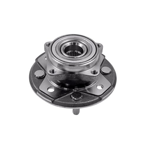 Single Front Left or Right Wheel Hub Bearing Assembly fit HONDA ACCORD (2.2L engine) 1990 1991 1992 1993 1994 1995 1996 (Front Wheel Single)