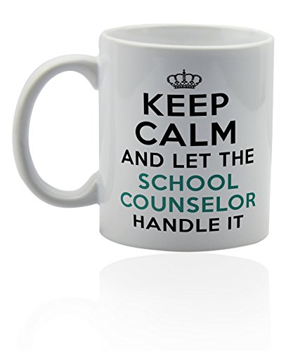 School counselor ceramic coffee Funny product image