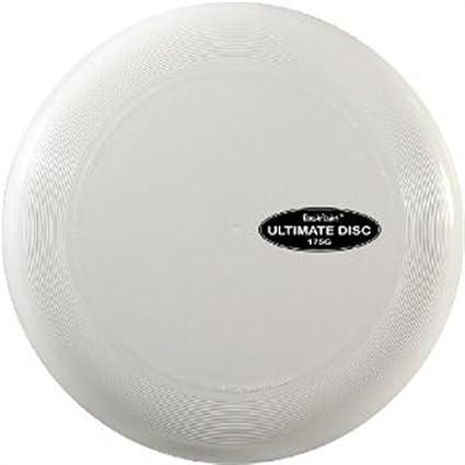 Plain White Frisbee