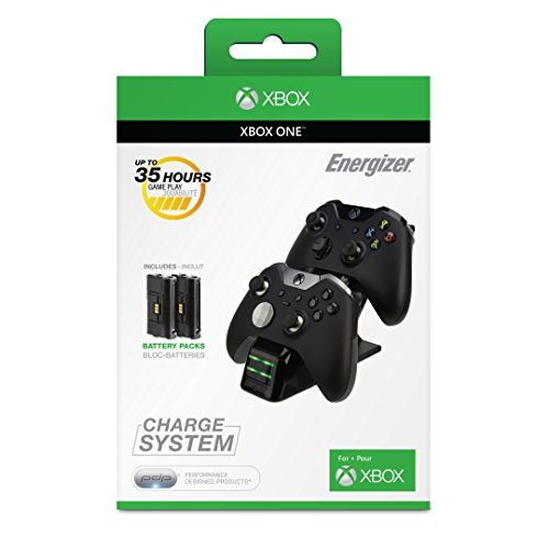 Microsoft licensed Energizer 2X Charging System for Xbox One