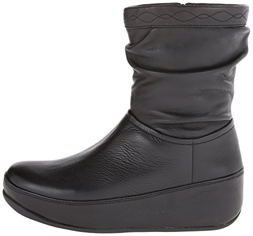 4b9b9c384 FitFlop Women s Zip Up Crush Leather Boot
