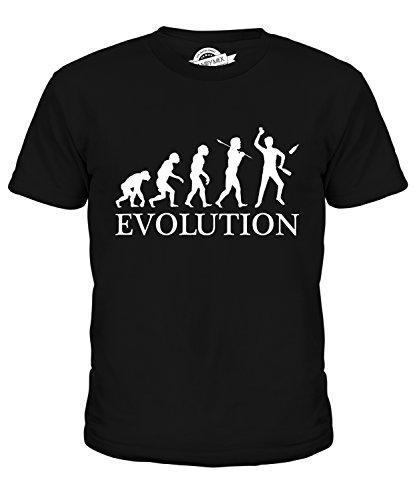 CandyMix Barkeeper Evolution Des Menschen Unisex Jungen Mädchen T Shirt:  Amazon.de: Bekleidung