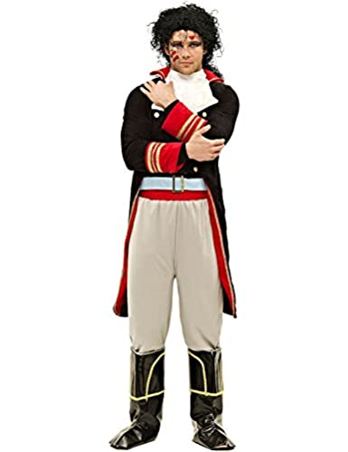 You'll look like a real Prince Charming in this deluxe Adam Ant outfit which comes in standard and XL sizes