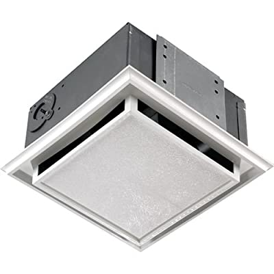 Broan 682 Non-Ducted Ceiling or Wall Mounted Bath Fan,