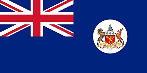 1876 Cape - magFlags Large Flag Cape Colony 1876-1910 | Landscape Flag | 1.35m² | 14.5sqft | 80x160cm | 30x60inch - 100% Made in Germany - Long Lasting Outdoor Flag