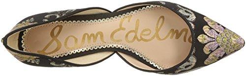 Sam Edelman Frauen Rodney Ballet Flat Schwarz / Multi Venezia Metallic Jacquard