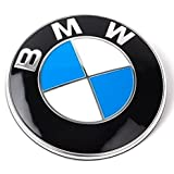 BMW Emblem Logo Replacement for Hood/Trunk 82mm for ALL Models BMW E30 E36 E46 E34 E39 E60 E65 E38 X3 X5 X6 3 4 5 6 7 8