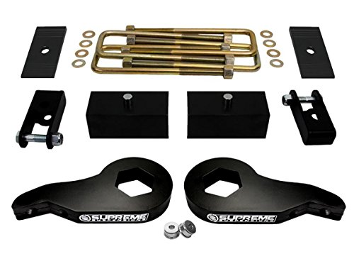 02 sierra front lift kit - 6