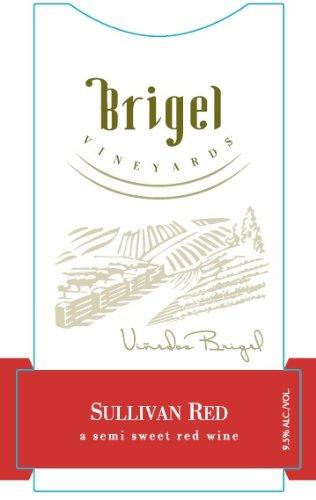 NV Brigel Vineyards Sullivan New York Red Wine semi sweet kosher