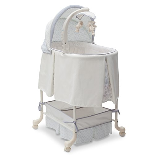 Find Discount Beautyrest Studio Gliding Bassinet, Paisley