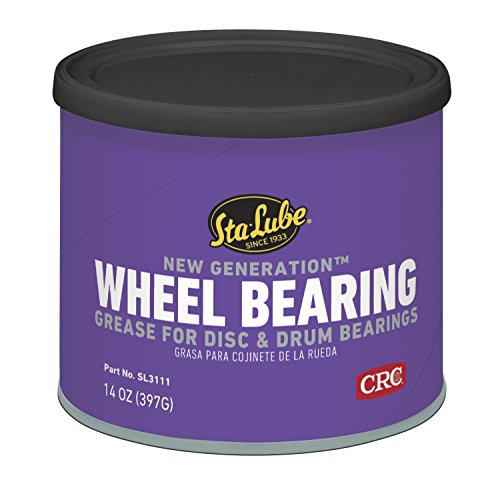 Ball Bearing Grease - CRC Sta-Lube SL3111 New Generation Wheel Bearing Grease for Disc and Drum Brakes - 14 wt. oz.