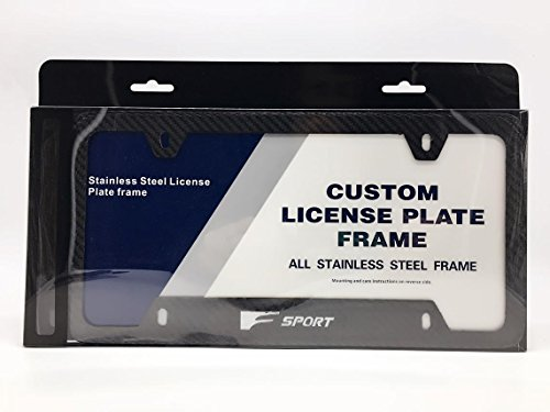Lexus Fsport F Sport Logo Emblem Full Carbon Fiber License - Import ...