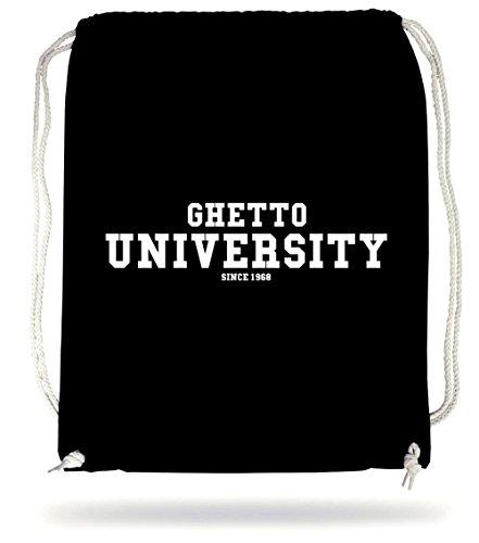 Ghetto University Gymsack Black Certified Freak