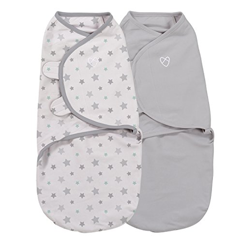 SwaddleMe Original Organic Swaddle 2-PK Starry Skies (SM)