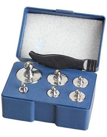 Lvcky - Juego de 6 Pesas de precisión para calibración de Equilibrio (100 g,