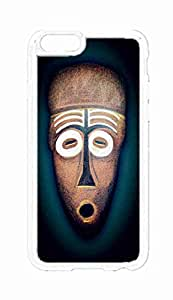 Custom iPhone 6 Plus (5.5 inch) Case , African Tribal Mask / Masks Hard Plastic Protective Cases Cover by Foreverway --1283