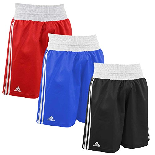 adidas Training Boxing Shorts - Black-White - (Adidas Microfiber Shorts)