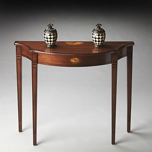 BUTLER 4116101 CHESTER OLIVE ASH BURL CONSOLE TABLE ()