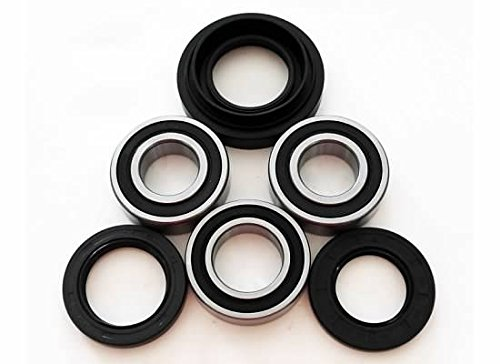 Cycle ATV - Rear Axle, Wheel Bearings and Seals fits Honda Foreman Fourtrax Rancher Rubicon TRX 350 400 450 500