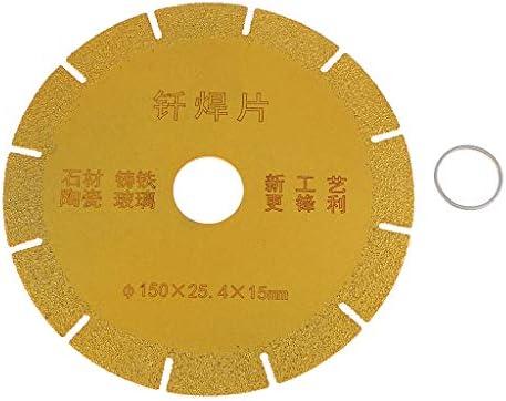 gazechimp ダイヤモンドブレード 切断ディスク アングルグラインダー セラミック 大理石 石材加工 切削工具 - 150mm