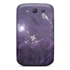 Galaxy High Quality Tpu Case/ Pixies Dragonflies Butterflies JmTExXu261ckVgu Case Cover For Galaxy S3