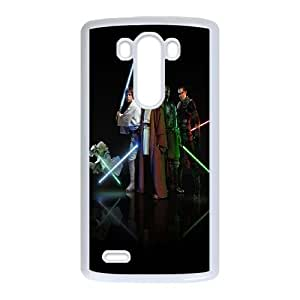 LG G3 Cell Phone Case White_Star Wars Characters Czffv