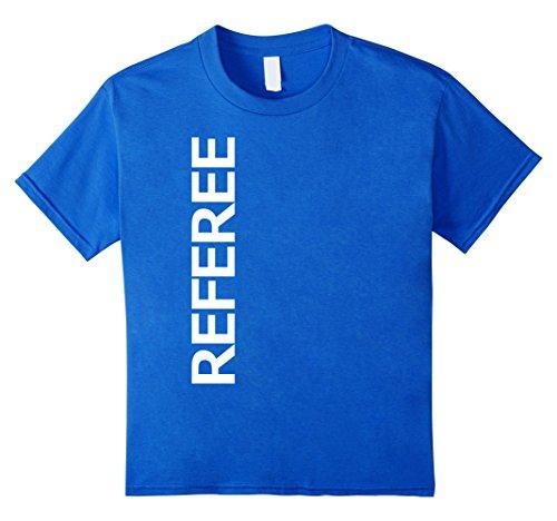unisex-child Referee Sport Uniform-Costume Jersey Shirt 4 Royal Blue ()