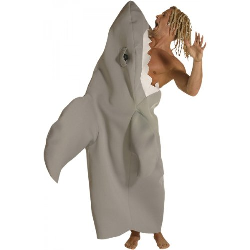 Shark Attack Adult Costume, One Size