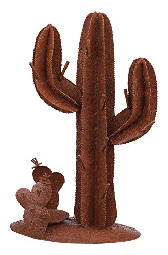 Regal Art & Gift Rustic Cactus Decor, 12-Inch