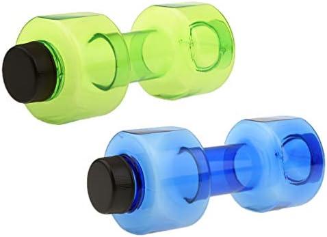 B Baosity 2 Unidades de Mancuernas de Agua para Práctica y Ejercicios de Casa