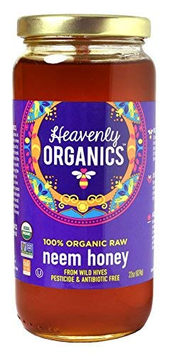 Heavenly Organics 100% organic Raw Neem Honey (22 oz ...