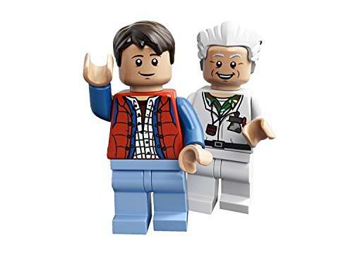 LEGO Ideas Cuusoo Minifigures - Doc Brown & Marty McFly -