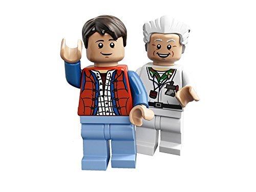 (LEGO Ideas Cuusoo Minifigures - Doc Brown & Marty McFly)
