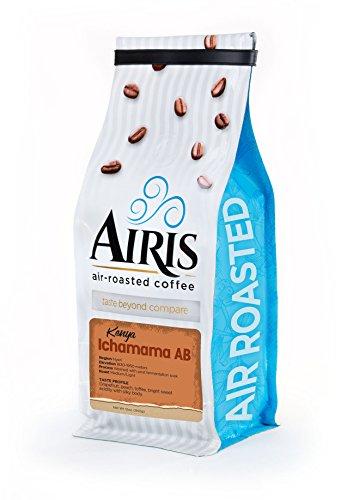 Kenya Ichamama Coffee, Whole Bean, AIR ROASTED COFFEE by Airis Coffee Roasters (12oz bag)