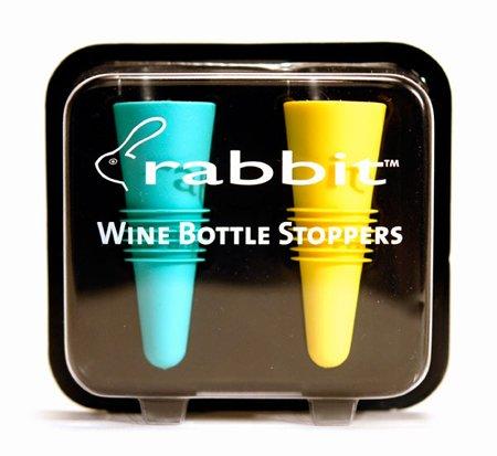 Rabbit Wine Opener with Best Wine Accessories - Rabbit Vertical Corkscrew, Foil Cutter, Extra Spiral, Rabbit Wine Aerator Pourer, Rabbit Wine and Beverage Bottle Stopper by Rabbit (Image #5)