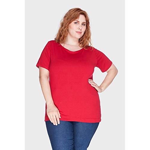 Blusa Marcela Plus Size Vermelho-48/50
