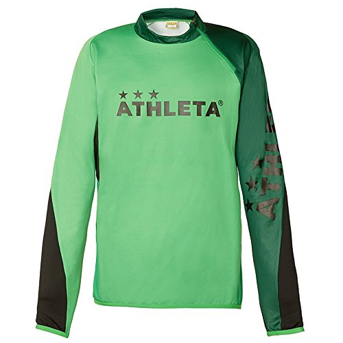 センチメートルシンポジウムオークランドATHLETA(アスレタ) ジュニア サッカーウェア トレーニングジャージシャツ 18005J 33KGR 150