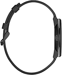 Pebble Time Round 20mm Smartwatch for Apple/Android Devices - Black/Black (Certified Refurbished)